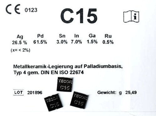 C15 Aufbrennlegierung