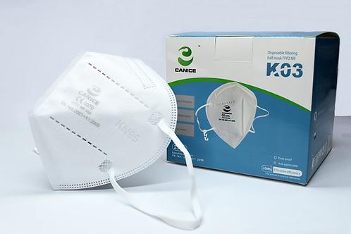 Canice FFP2-Gesichtsmasken – CE-zertifiziert, 5er Pack