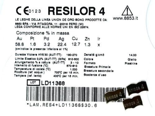 RESILOR 4 Gusslegierung