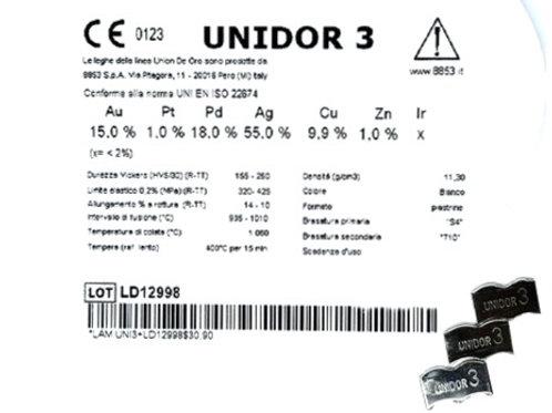 UNIDOR 3 Gusslegierung