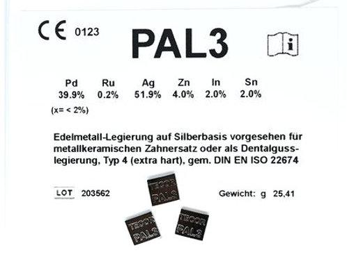 PAL 3 Universallegierung