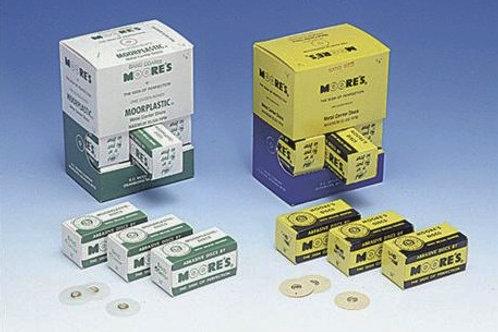 MOORE Scheiben Garnet Ø 13 mm (1/2), mittel (50Stk. / Box)