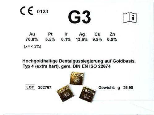 G3 Gusslegierung