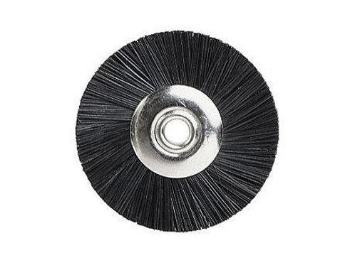 Miniaturbürsten, 19mm, unmontiert Chungking, schwarz, 12 Stück