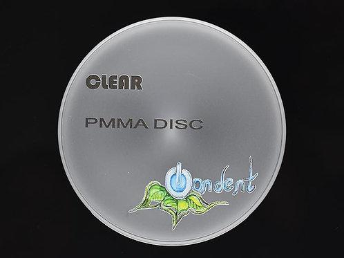 PMMA Disc CLEAR mit Stufe