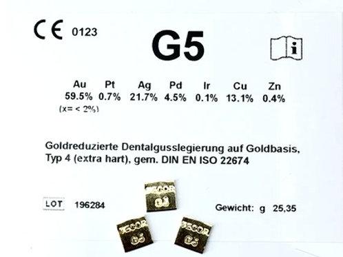 G5 Gusslegierung