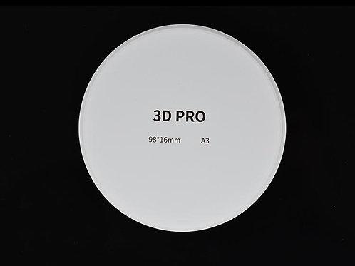 Aidite 3D Pro Multilayered Zirkonoxid Blank A1-D4/16mm-30mm