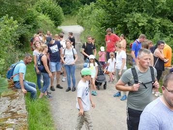 Jubiläumswanderung rund um Eichelsdorf am 17.07.21