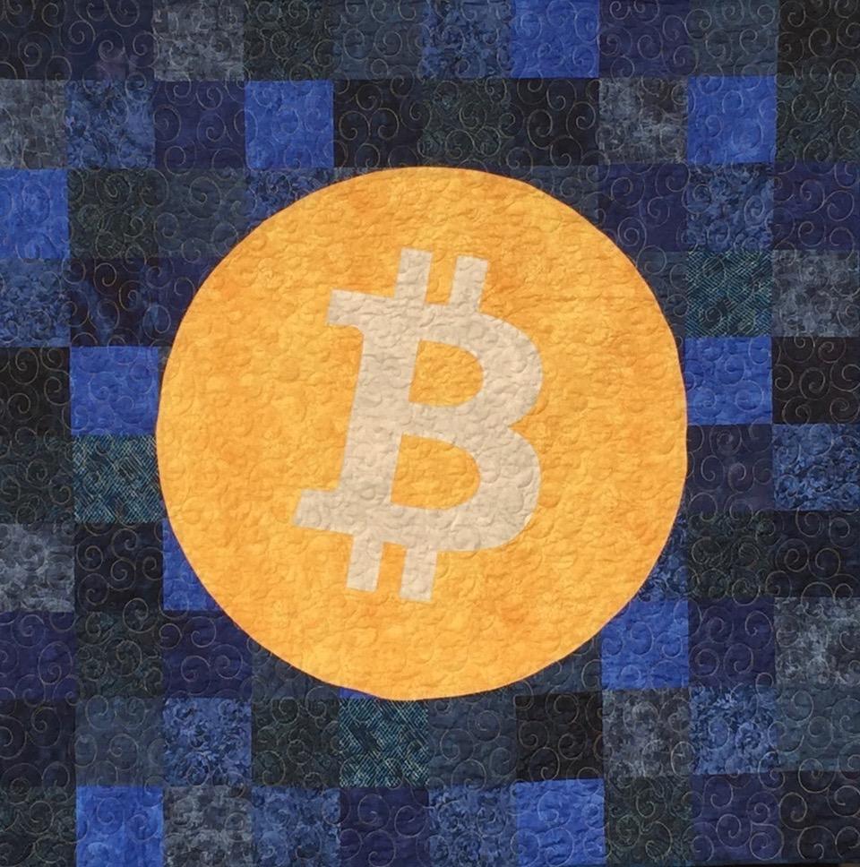 Bitcoin quilt 2020