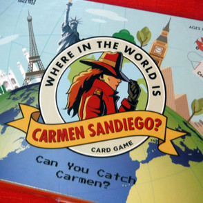 Where in the World is Carmen Sandiego? Card Game