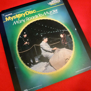 RCA Video Disc - Mystery Disc - Many Roads to Murder