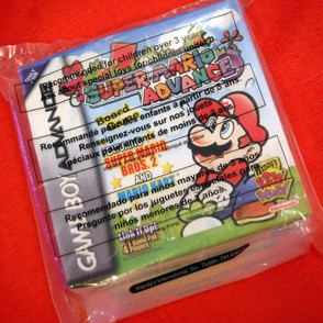 Premiums - Wendy's Super Mario Advance
