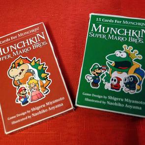 Super Mario - Munchkin Bootlegs