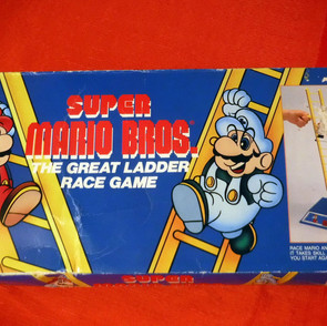 Super Mario - The Great Ladder Race Game