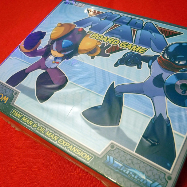 Megaman The Board Game - Time Man & Oil Man Expansion