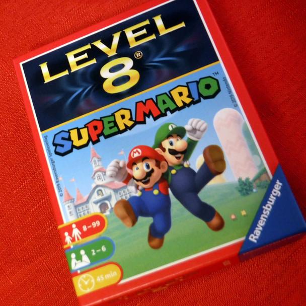 Super Mario - Level 8 Card Game