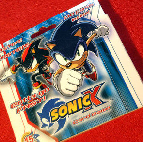 Sonic the Hedgehog Sonic X Trading Card Game