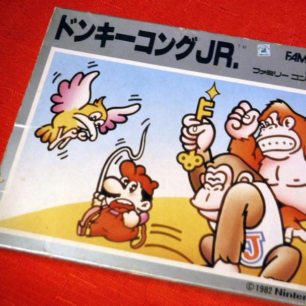 Famicom - Donkey Kong JR.