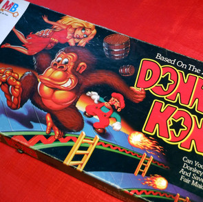 Milton Bradley - Donkey Kong