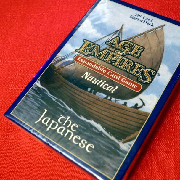 Age of Empires II Card Game - Nautical Expansion - The Japanese Starter Deck