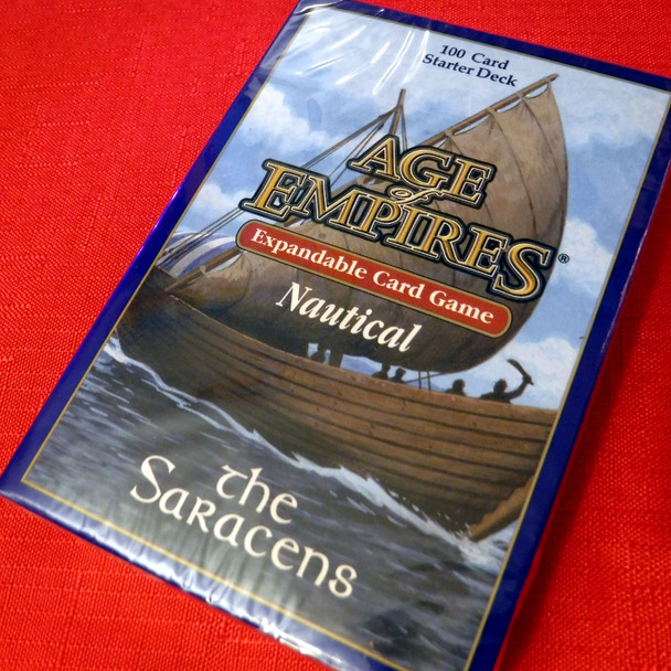 Age of Empires II Card Game - Nautical Expansion - The Saracens Starter Deck