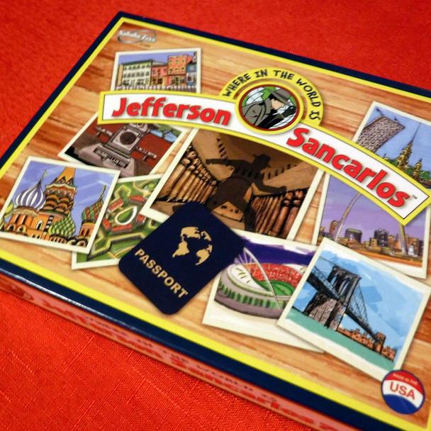 Where in the World is Jefferson Sancarlos (Parody)