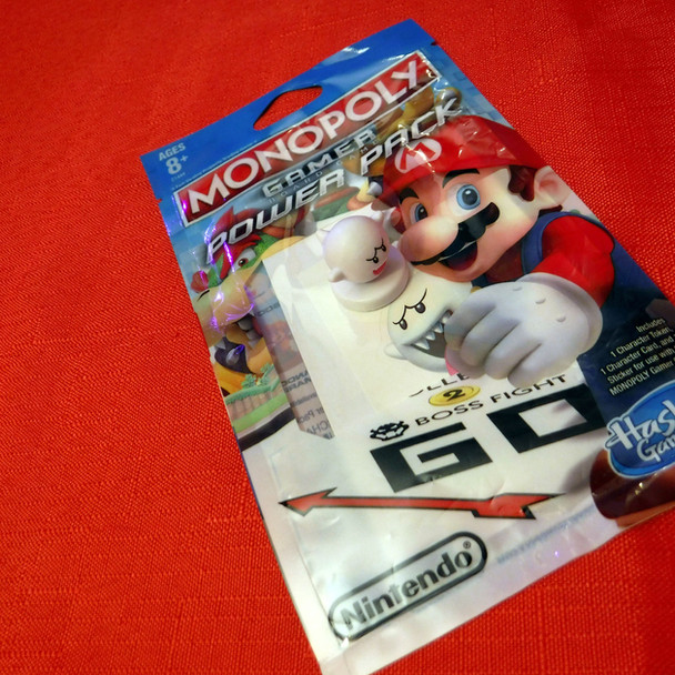 Monopoly Gamer - Super Mario Bros. - Boo Character Pack