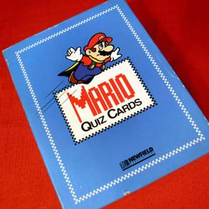 Super Mario - Mario Quiz Cards