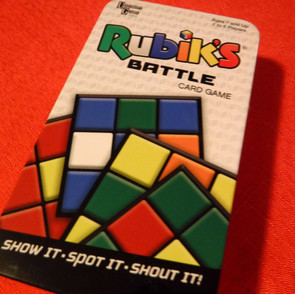 Rubik's Cube - Rubiks Battle Card Game