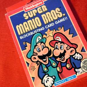Super Mario - Blockbusting Card Game!!