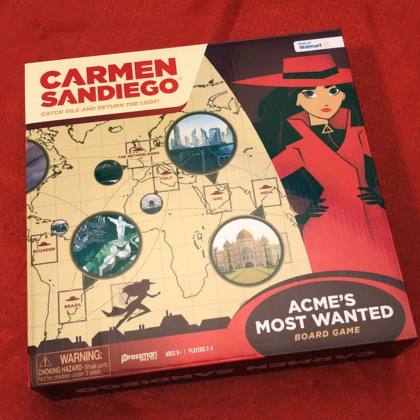 Where in the World is Carmen Sandiego? Acme's Most Wanted
