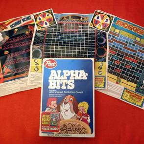 Premiums - Post Alphabits Atari Arcade Games
