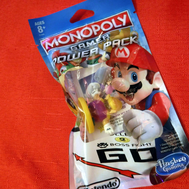 Monopoly Gamer - Super Mario Bros. - Wario Character Pack