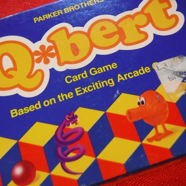 Q*Bert Card Game