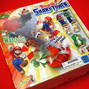 Super Mario - Blow Up Shakey Tower Game