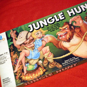 Milton Bradley - Jungle Hunt