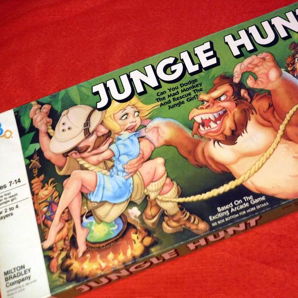 Milton Bradley - Jungle Hunt