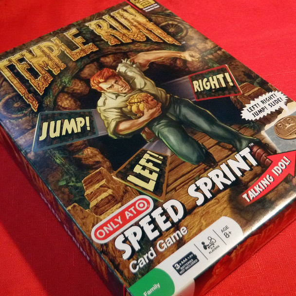 Temple Run Speed Spring Card Game