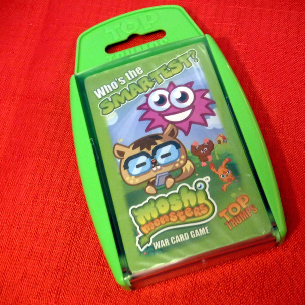 Top Trumps - Moshi Monsters: Who's The Smartest?