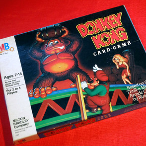 Milton Bradley - Donkey Kong Card Game