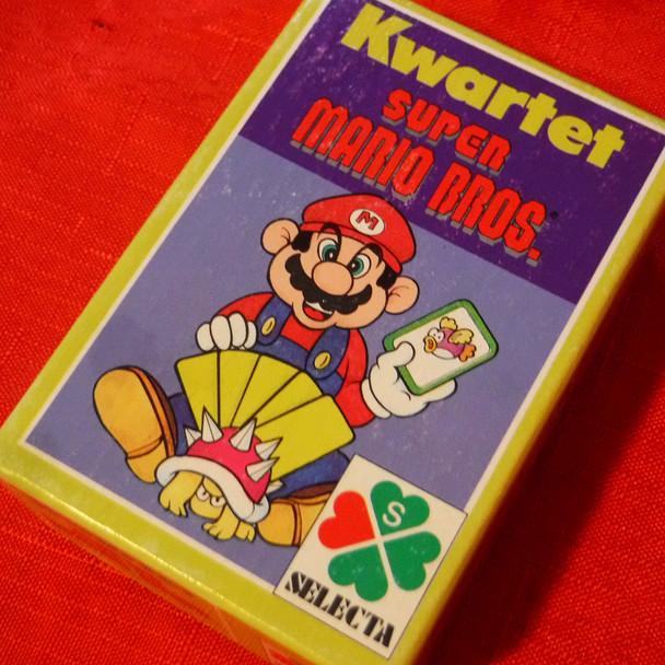 Super Mario - Kwartet