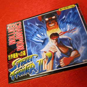 Street Fighter II Championship Edition Card Game