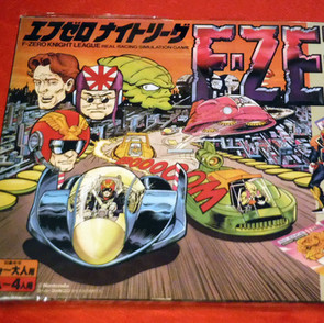 F-Zero Knight Leage Real Racing Simulation Game