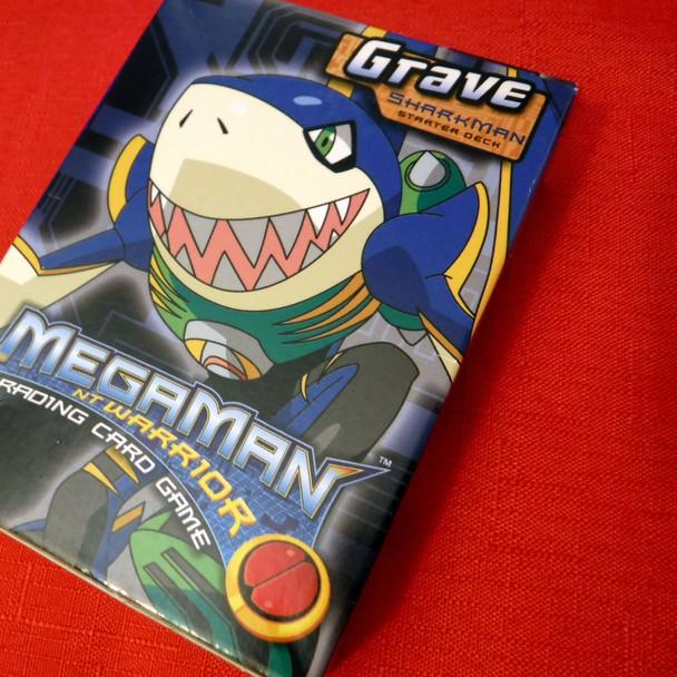 Megaman NT Warrior TCG - Grave (SharkMan.exe) Starter Deck