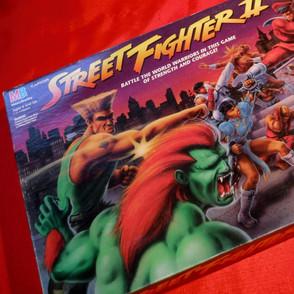 Street Fighter II Board Game