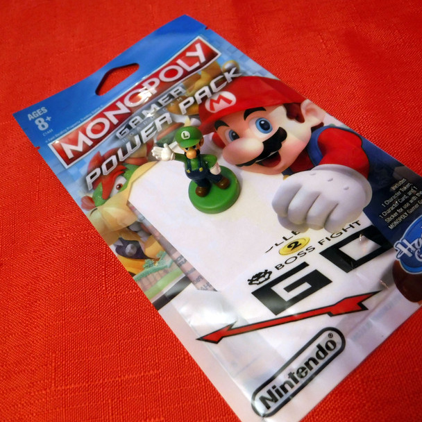 Monopoly Gamer - Super Mario Bros. - Luigi Character Pack