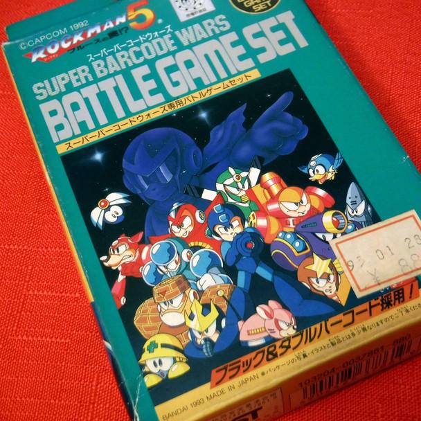 Super Barcode Wars - Megaman 5