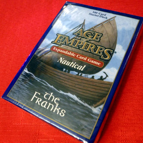 Age of Empires II Card Game - Nautical Expansion - The Franks Starter Deck