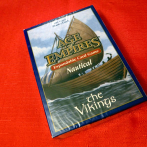 Age of Empires II Card Game - Nautical Expansion - The Vikings Starter Deck