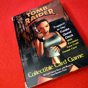 Tomb Raider Trading Card Game - Trapped in the Tombs Quest Deck